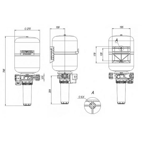 Автоматическая система КРАБ 24 Джилекс