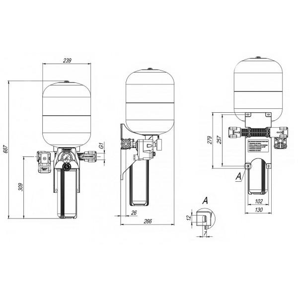 Автоматическая система КРАБ 18 Джилекс